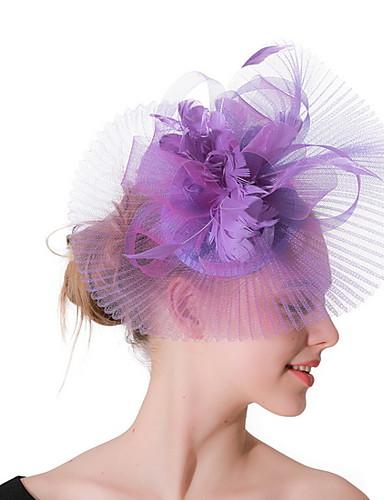 2019 Moda Per Donna Kentucky Derby Elegante Tessuto Tinta Unita #07291292 Long Performance Life