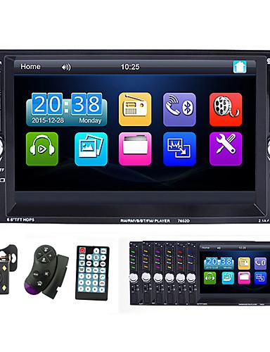 povoljno Auto elektronika-7-inčni 2 din auto multimedijalni player autoradio bluetooth touch screen mp5 player tf usb fm radio auto media player s ios / android link link