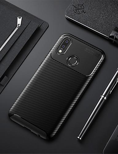 Etui Käyttötarkoitus Huawei Huawei Note 10 / Huawei Honor 10 / Honor V20 Iskunkestävä / Ultraohut Takakuori Yhtenäinen Pehmeä TPU / Hiilikuitu