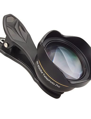 Matkapuhelin Lens Pitkäpolttovälinen objektiivi lasi / Alumiiniseos 3X 48 mm 0.065 m 48 ° Uusi malli