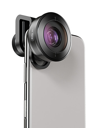 Matkapuhelin Lens Kalansilmäobjektiivi lasi / Alumiiniseos 1X 40 mm 0.01 m 195 ° Uusi malli / Lovely