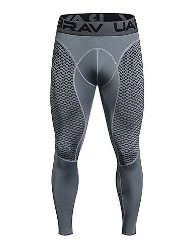 cheap Cycling Clothing-Men's Compression Pants Compression Base layer Tights Pants Breathable Quick Dry Sweat-wicking Comfortable Black Grey Winter Road Bike Mountain Bike MTB Basketball Stretchy / Road Bike Cycling