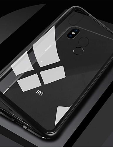 Etui Käyttötarkoitus Xiaomi Xiaomi Redmi Note 5 Pro / Xiaomi Redmi Note 6 / Xiaomi Redmi Note 7 Magneetti Suojakuori Yhtenäinen Kova Karkaistu lasi