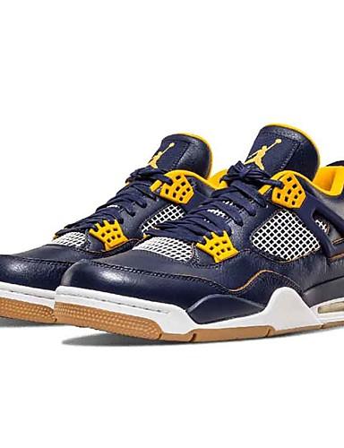 ad98280e34f Ανδρικά Παπούτσια άνεσης Φο Δέρμα Ανοιξη καλοκαίρι Αθλητικά Παπούτσια  Μπάσκετ Μπλε / Αθλητικό