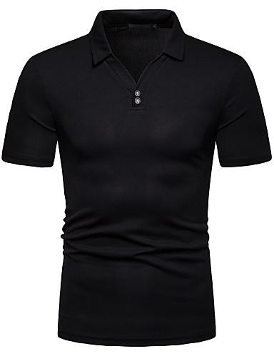 03663fb7ec75 Χαμηλού Κόστους Ανδρικά μπλουζάκια και φανελάκια-Ανδρικά T-shirt Συνδυασμός  Χρωμάτων Λευκό L
