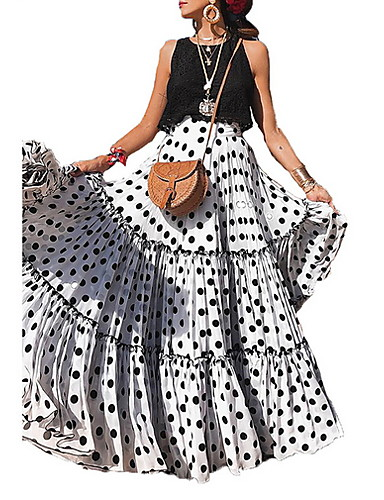 3c27c67ec3d8 Γυναικεία Κούνια Κομψό στυλ street Φούστες - Πουά. $34.31. USD $23.99(42). Χαμηλού  Κόστους Γυναικείες ...