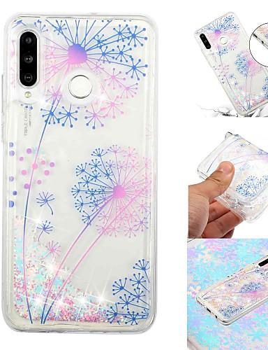 Hülle Für Samsung Galaxy Galaxy M20(2019) / Galaxy M30(2019) Mit Flüssigkeit befüllt / Transparent / Muster Rückseite Cartoon Design Weich TPU für Galaxy M10 (2019) / Galaxy M20(2019) / Galaxy