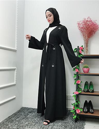 828592dac3b0 Γυναικεία Μπόχο Κομψό Αμπάγια Καφτάνι Φόρεμα - Φλοράλ