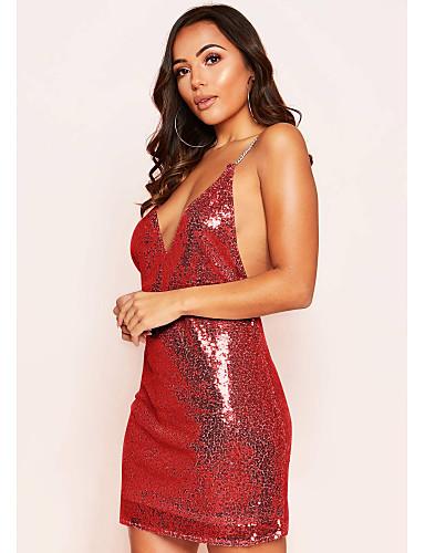Acquista A Buon Mercato Per Donna Fodero Vestito Tinta Unita Mini #07327101 Merci Di Alta Qualità
