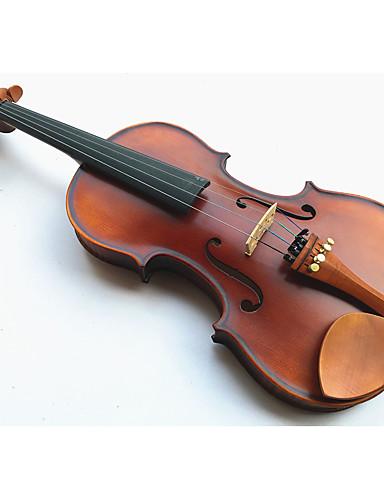 povoljno Žičani instrumenti-4/4 prirodna boja svijetlo Tiger pruge violina Rošin + + pokloniti + pjena kutije