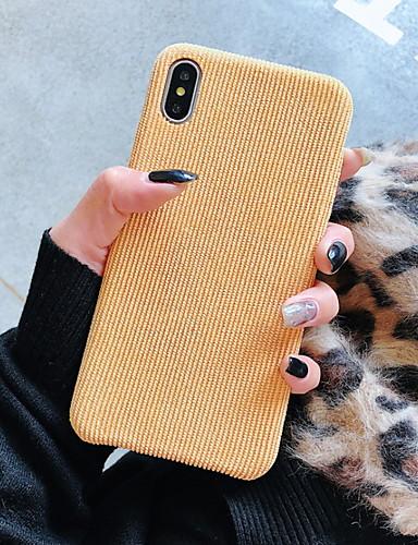 מגן עבור Apple iPhone XS / iPhone XR / iPhone XS Max עמיד בזעזועים כיסוי אחורי אחיד קשיח עור PU