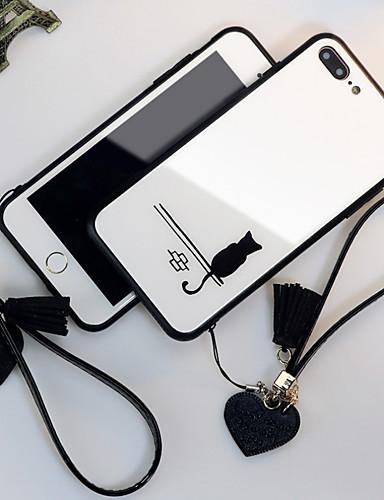 מגן עבור Apple iPhone XS / iPhone XR / iPhone XS Max מראה כיסוי אחורי אנימציה קשיח זכוכית משוריינת