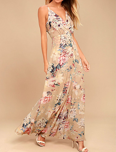 41214c9868 economico Vestiti da donna-Per donna sofisticato Swing Vestito - Con  stampe, Fantasia floreale
