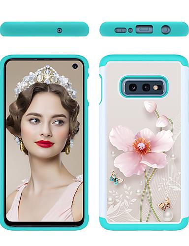מגן עבור Samsung Galaxy S9 / S9 Plus / S8 Plus תבנית כיסוי אחורי פרח קשיח PC
