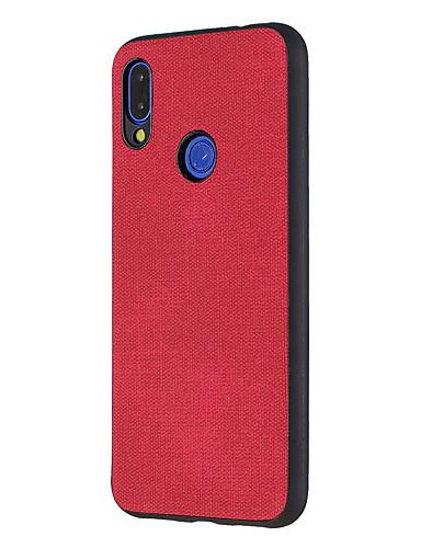 מגן עבור Xiaomi Xiaomi Redmi 6 Pro / Xiaomi Redmi Note 7 / Redmi 6A עמיד לאבק / אולטרה דק כיסוי אחורי אחיד קשיח עור PU