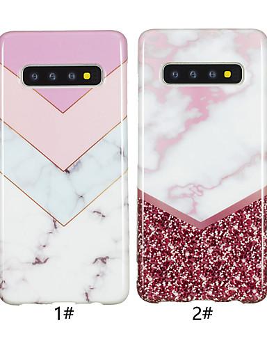 מגן עבור Samsung Galaxy גלקסי S10 / גלקסי S10 פלוס / Galaxy S10 E IMD / תבנית כיסוי אחורי שיש רך TPU