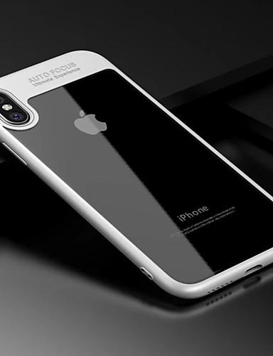 מגן עבור Apple iPhone XS / iPhone XR / iPhone XS Max עמיד בזעזועים כיסוי אחורי אחיד קשיח אקרילי