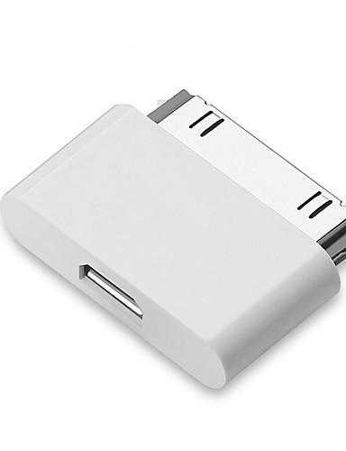 USB ל 30 פינים מחבר עבור iPhone 4 / 4s כבל מתאם טעינה