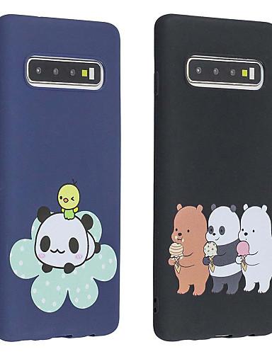 מגן עבור Samsung Galaxy S9 / S9 Plus / S8 Plus מזוגג / תבנית כיסוי אחורי חיה רך TPU