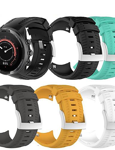 Suunto 9 için smartwatch band / suunto 9 baro spor band moda yumuşak silikon bilek kayışı