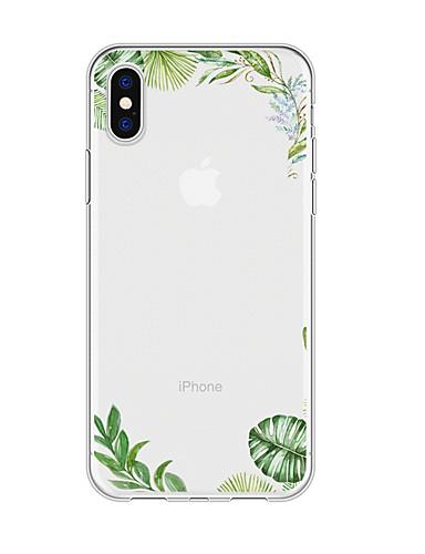 Iphone x xs max xr xs geri case yumuşak kapak tpu iphone5 için basit çiçek yumuşak tpu 5 s se 6 6 p 6 s sp 7 7 p 8 8p16 * 8 * 1
