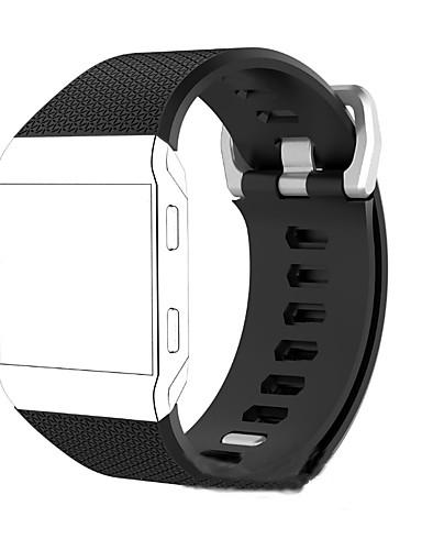 Watch Band için Fitbit ionic Fitbit Spor Bantları Silikon Bilek Askısı