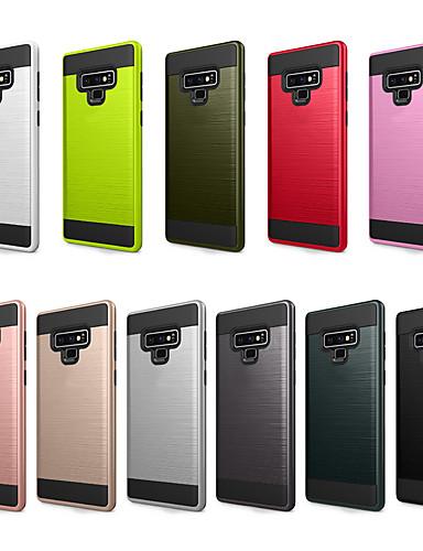 Pouzdro Uyumluluk Samsung Galaxy Note 9 Toz Geçirmez / Buzlu Arka Kapak Solid PC