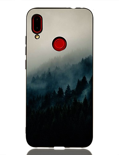 Xiaomi redmi not 6 / pocophone f1 / redmi 6 pro darbeye dayanıklı / buzlu / desen arka kapak manzara tpu redmi için yumuşak k20 / k20 pro / redmi 7 / redmi not 7 / mi 9 / mi 8/8 lite / redmi not 7 pro