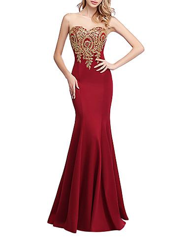 Kadın's Temel Çan Elbise - Zıt Renkli, Desen Maksi