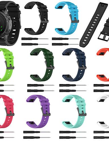 Watch Band için Approach S60 / Fenix 5 / Fenix 5 Plus Samsung Galaxy Spor Bantları Silikon Bilek Askısı