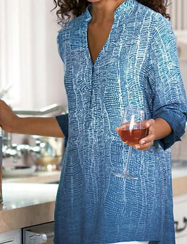billige Dametopper-Skjorte Dame - Ensfarget Gul