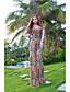 hesapli Kadın Elbiseleri-Kadın's Çan Elbise - Tek Renk, Desen
