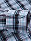 povoljno Muške košulje-JamesEarl Muškarci Kragna košulje Dugi rukav Shirt & Bluza Smeđa - DA202029250