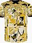 povoljno Muške majice i potkošulje-Majica s rukavima Muške Ležerno/za svaki dan Print-Kratkih rukava Pamuk