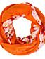 billige Uendelighedshalstørklæde-Damer Vintage / Sødt / Fest / Casual Polyester Halstørklæde-Trykt mønster Uendelighedshalstørklæde