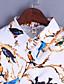 halpa Paita-Naiset Pitkähihainen Keskipaksu Paitapuserokaula-aukko Polyesteri Kaikki vuodenajat Vintage Bile Paita,Painettu