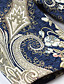 女性 カジュアル/普段着 / プラスサイズ 冬 ジャカード コート,アジアン・エスニック スタンド ブルー ポリエステル 長袖