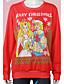preiswerte Damen Kapuzenpullover & Sweatshirts-Damen Pullover Lässig/Alltäglich Solide Rundhalsausschnitt Abnehmbare Kapuze Mikro-elastisch Baumwolle Lange Ärmel Winter