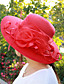 cheap Hats-Women's Party Hat Flower Party Street Holiday Black White Solid Colored Hat / Cute / Pink / Fall / Winter / Spring
