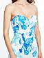cheap Women's Dresses-Women's Beach Loose Dress Print Maxi Strapless
