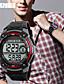 baratos Relógio Elegante-Homens Digital Relogio digital Relógio de Pulso Relógio inteligente Relógio Esportivo Chinês Calendário Impermeável Mostrador Grande