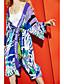 halpa Päälystakki ja Trenchcoat takki-Naiset Pitkähihainen Huppu Polyesteri Kesä Nykyaikainen Päivittäin Kausaliteetti Trenssitakki,Lainaukset Pitkä