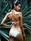 halpa Bikinit ja uima-asut 2017-Nais- Polyesteri Yksivärinen Tankini