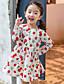 Mädchen Kleid Druck Baumwolle