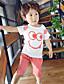 preiswerte Kleidersets für Jungen-Jungen Sets Einfarbig Andere Sommer Kurzarm Kleidungs Set