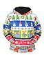 preiswerte Herren Pullover-Herrn Aktiv Street Schick Langarm Kapuzenshirt Einfarbig 3D-Druck