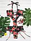billige Bikinier og damemote 2017-Dame Grime Monokini Blomstret