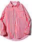 זול חולצות לגברים-פסים חולצה - בגדי ריקוד גברים בסיסי