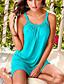 cheap BEST SELLERS-Women's Plus Size Strap Dress Short Mini Dress - Sleeveless Solid Colored Strappy Summer Spring & Summer Vacation Beach 2020 White Black Purple S M L XL XXL XXXL
