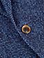 preiswerte Anzüge-Dunkel Blau / Dunkelgrau / Dunkelmarine Solide Weite Passform Anzug - Fallendes Revers Einreiher - 2 Knöpfe